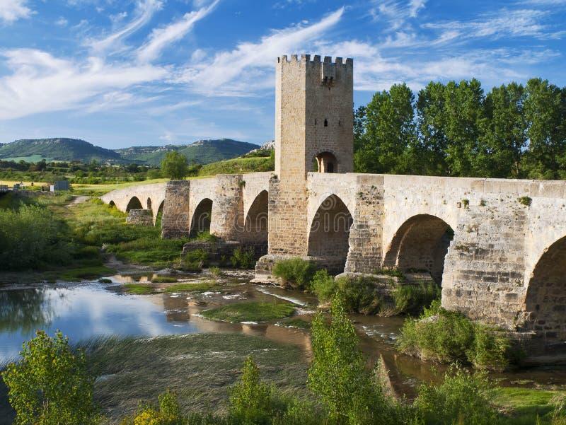 Puente medieval foto de archivo