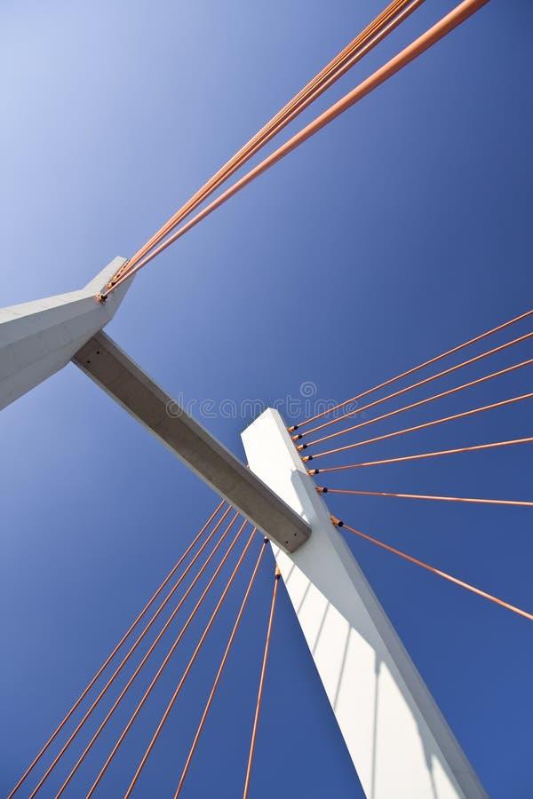 Puente moderno. fotos de archivo libres de regalías