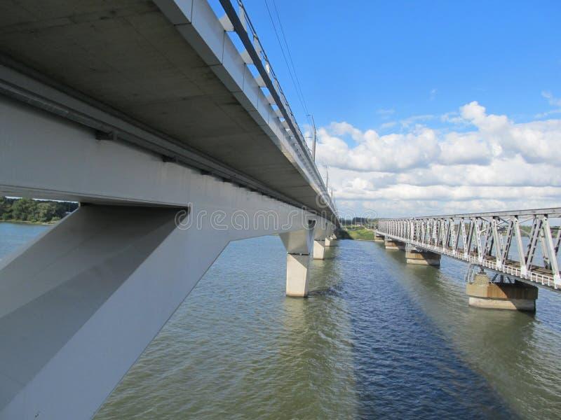 Puente Moerdijk de HSL fotos de archivo libres de regalías