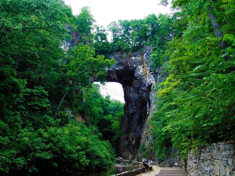 Puente natural 1 fotografía de archivo