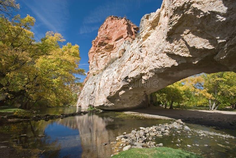 Puente natural de Ayres imagenes de archivo