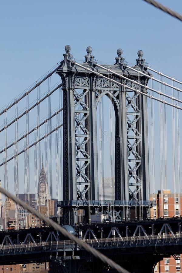 Puente New York City de Williamsburg fotos de archivo