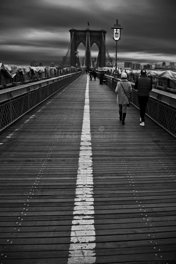 Puente Nueva York Manhattan 2012 fotografía de archivo