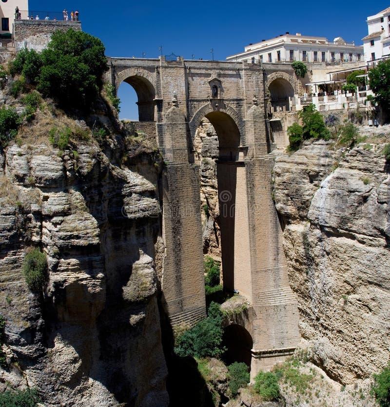 Puente Nuevo stock afbeeldingen