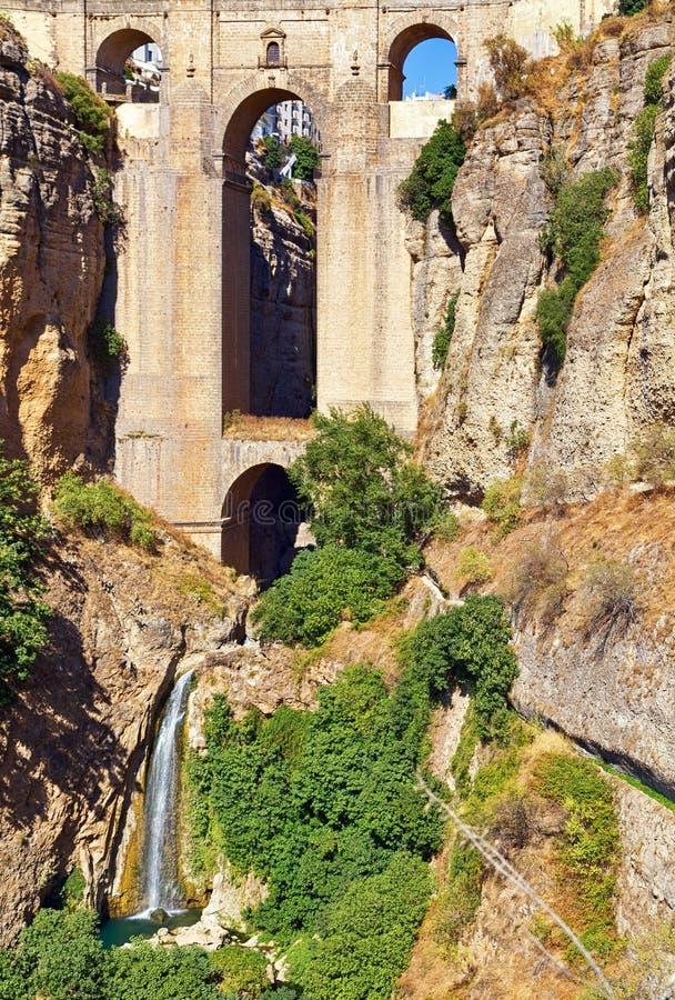 Puente Nuevo Bridge, Ronda foto de stock royalty free