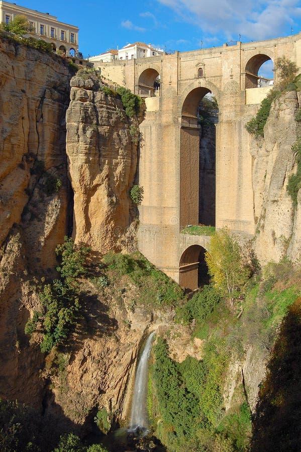 Puente Nuevo - Ronda stock foto