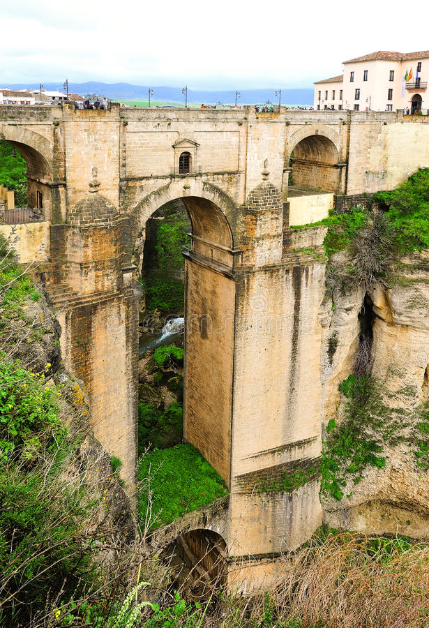 Download The Puente Nuvo from Ronda stock photo. Image of roman - 13711968