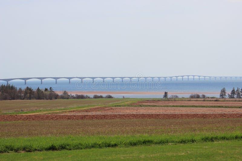 Puente P de la confederación e I canadá fotografía de archivo libre de regalías