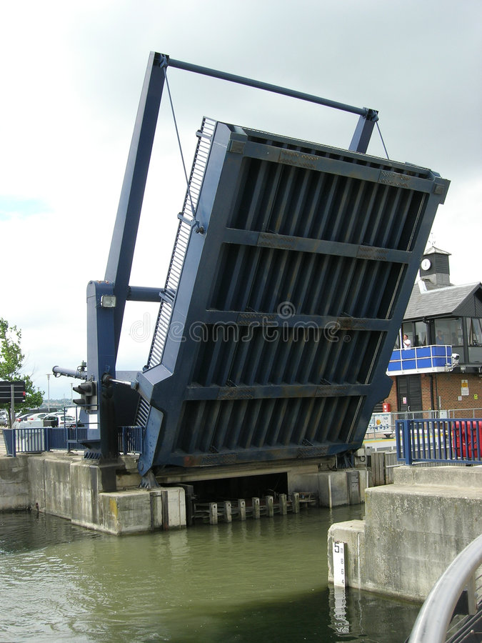 Puente para arriba fotografía de archivo