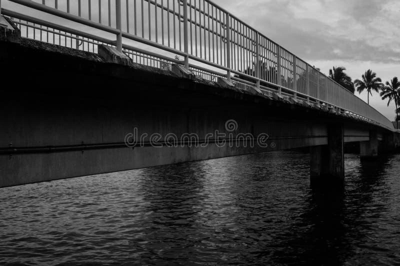 Puente peatonal fotografía de archivo libre de regalías