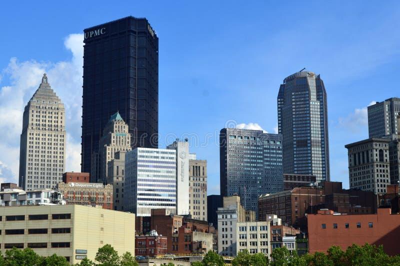 Puente Pittsburgh fotos de archivo libres de regalías