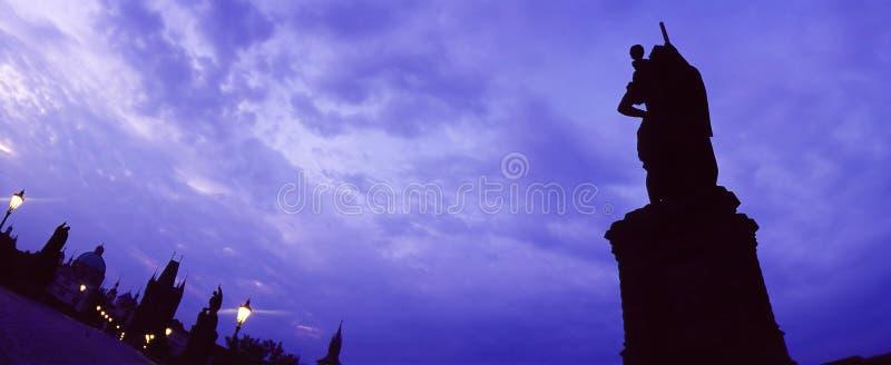 Puente Praga de Charles fotos de archivo