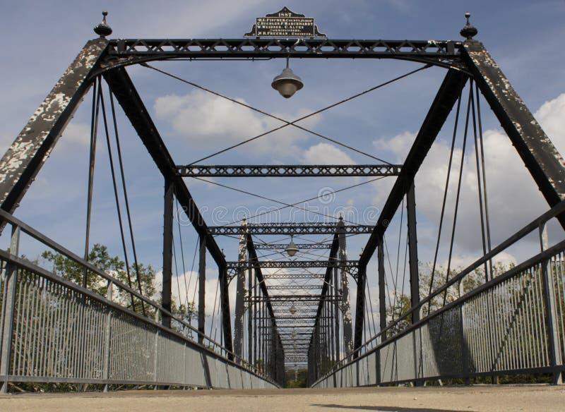 Puente que camina foto de archivo