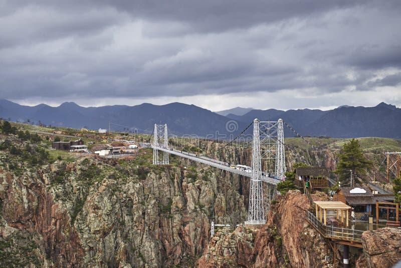 Puente real de la garganta fotos de archivo libres de regalías