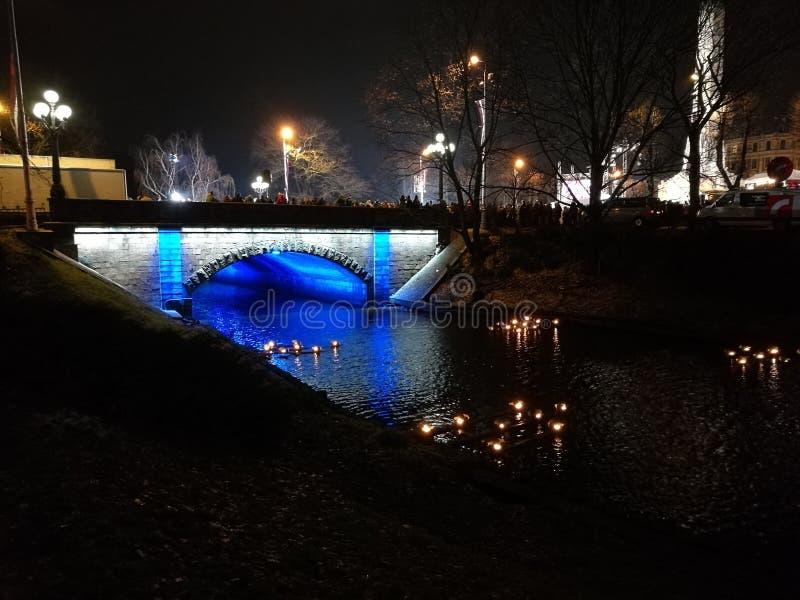 Puente Riga foto de archivo libre de regalías