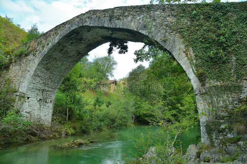 Puente romano fotografía de archivo libre de regalías