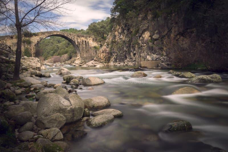 Puente Romano Caceres imagens de stock royalty free