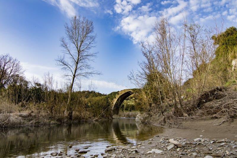 Puente romano viejo foto de archivo