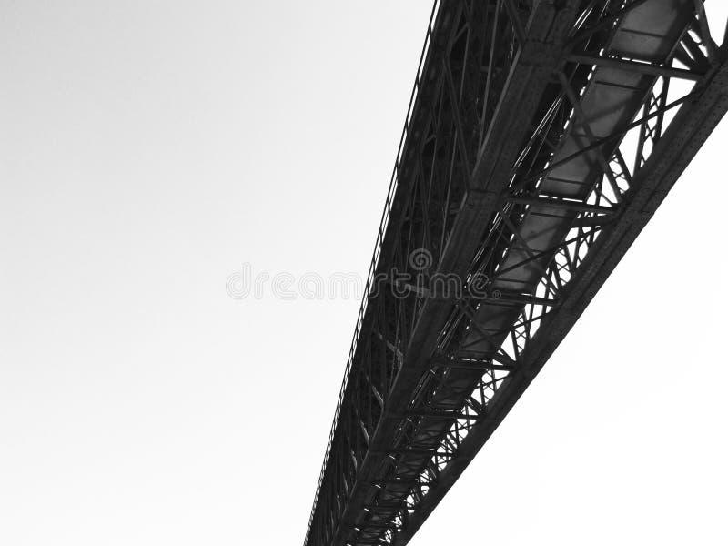 Puente sólido en la perspectiva 2 fotos de archivo