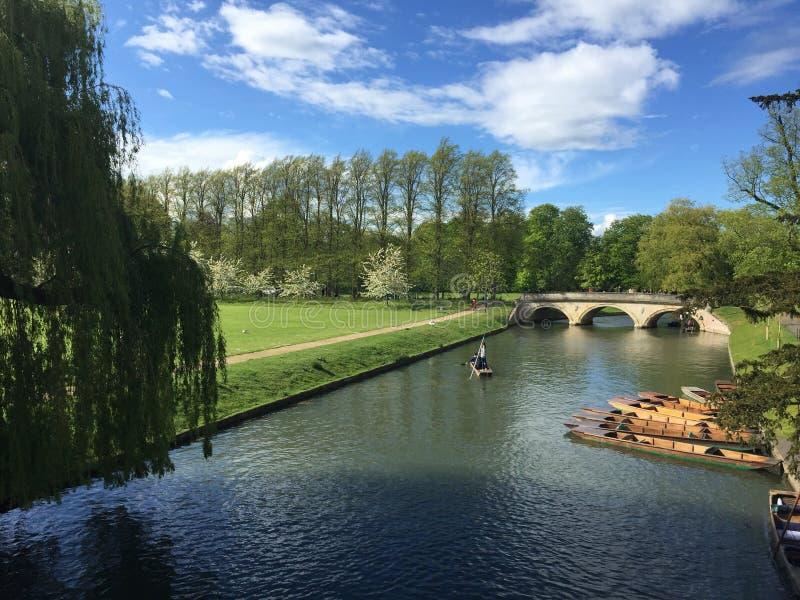 Puente sobre el agua fotos de archivo libres de regalías