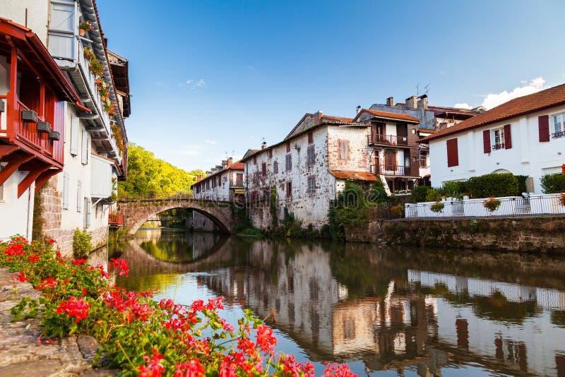 Río de Nive fotos de archivo libres de regalías