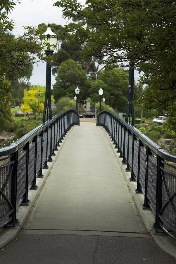 Puente sobre Torrens imagen de archivo libre de regalías