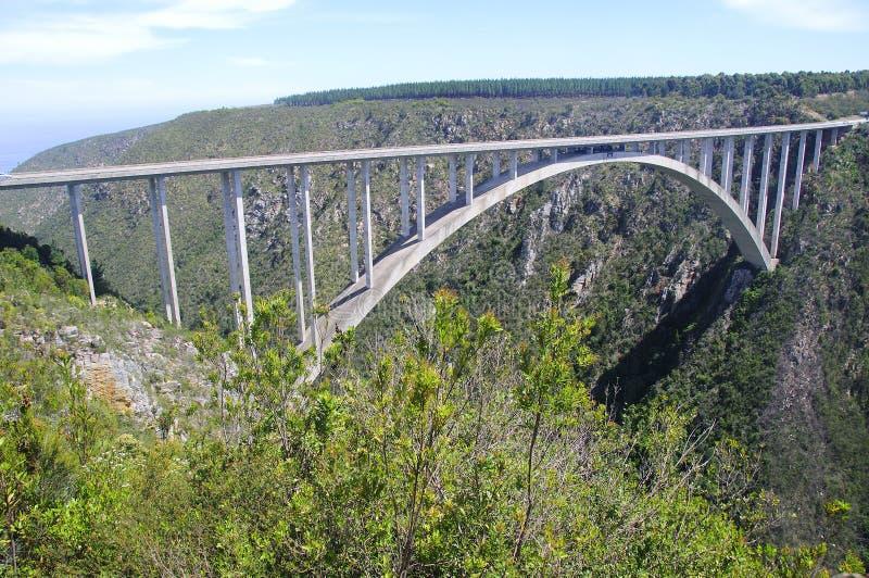 Puente Suráfrica de Bloukrans imagen de archivo libre de regalías