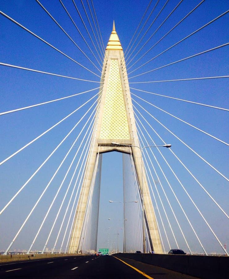 Puente Tailandia de Bhumibol imagenes de archivo