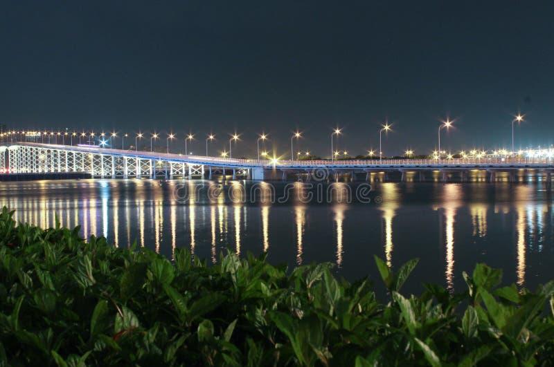 Puente a Taipa en Macao fotografía de archivo libre de regalías