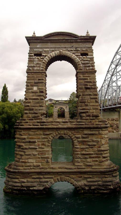 Puente viejo Alexandra fotografía de archivo libre de regalías