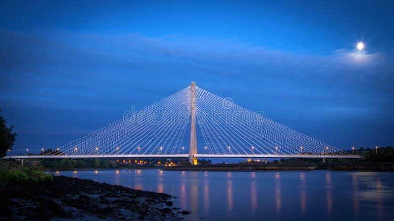 Puente Waterford de Suir del río fotos de archivo libres de regalías
