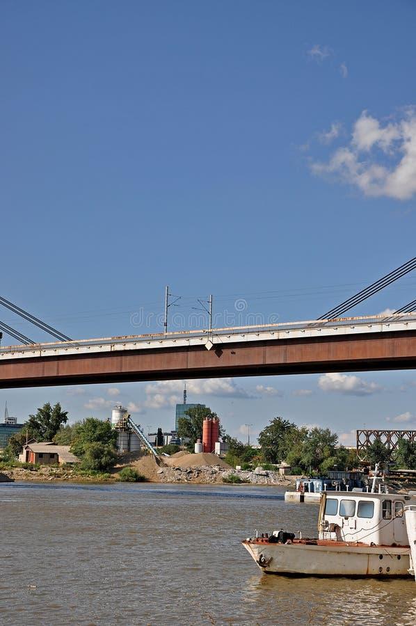 Puentes de la ciudad fotografía de archivo