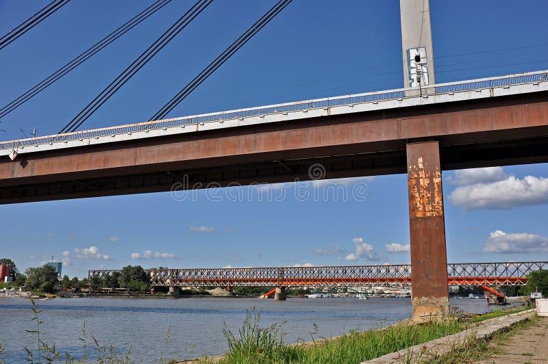 Puentes de la ciudad imagen de archivo