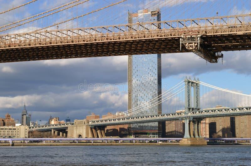 Puentes de New York City imagenes de archivo