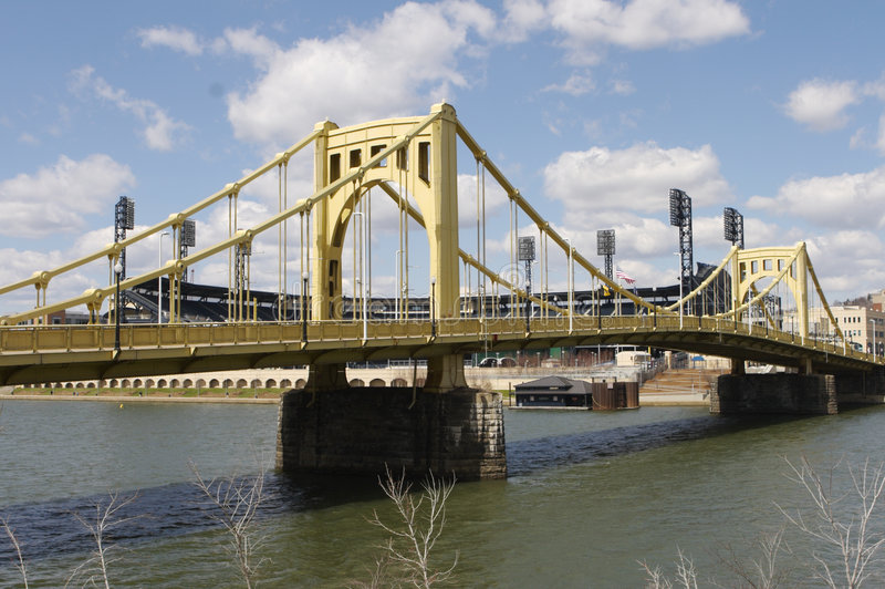 Puentes de Pittsburgh imagen de archivo