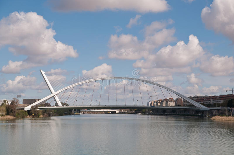 Puentes de Sevilla imagenes de archivo