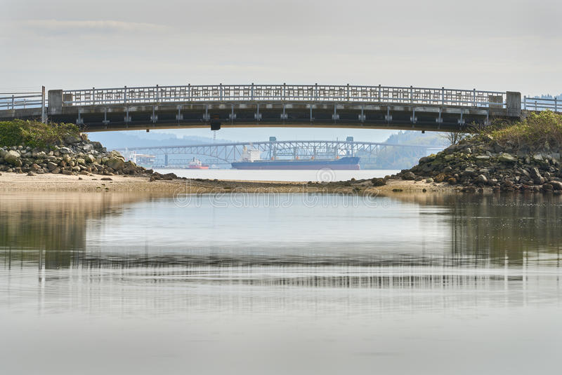 Puentes de Vancouver fotografía de archivo libre de regalías