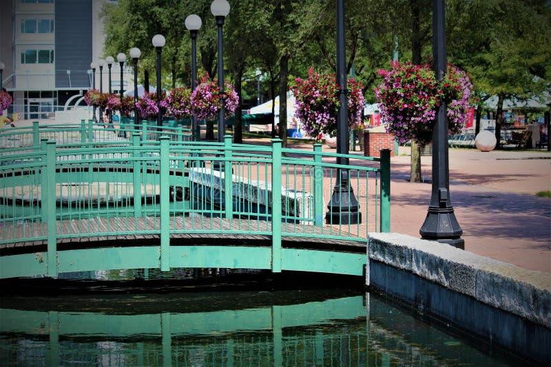 Puentes decorativos foto de archivo