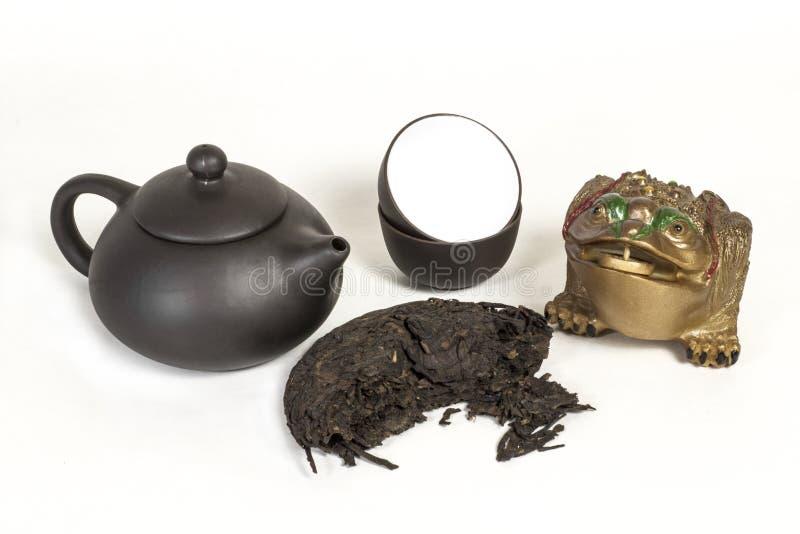 Puer tea stock image