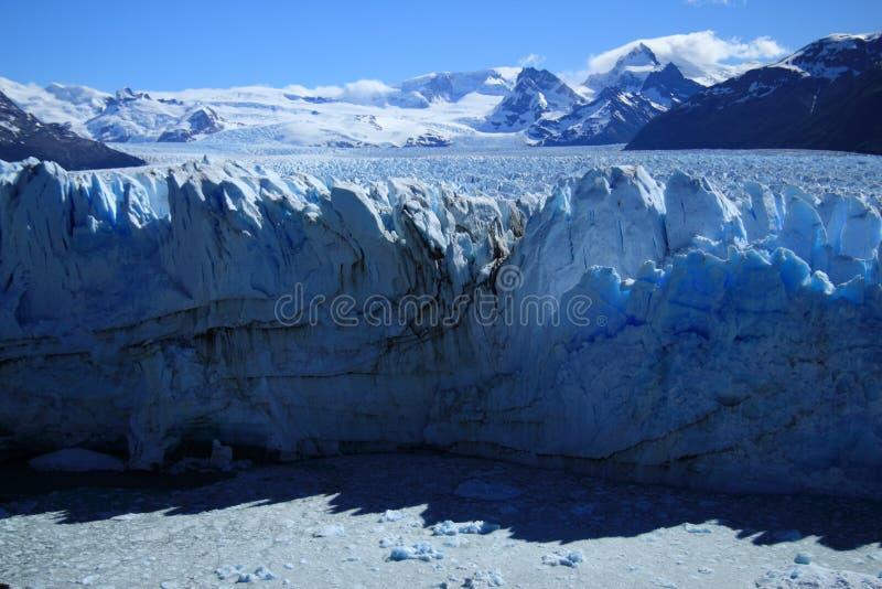 Puerito Moreno Gletscher stockbilder