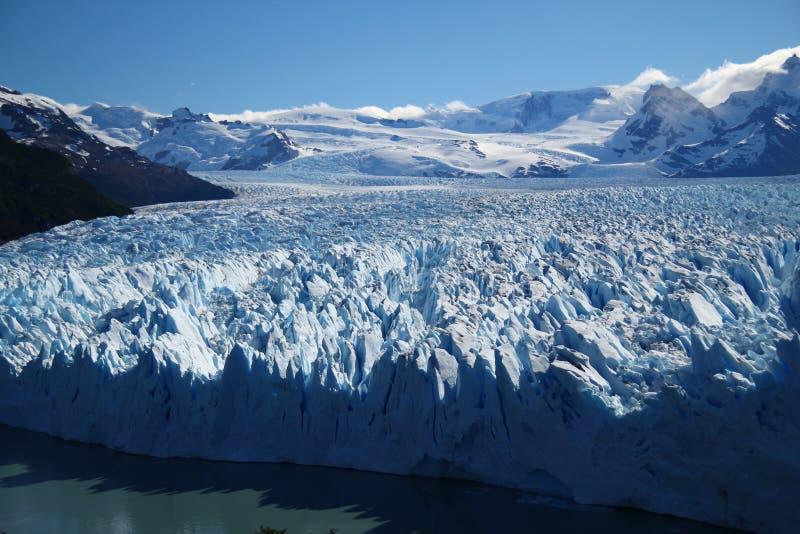 Puerito Moreno Gletscher lizenzfreies stockbild