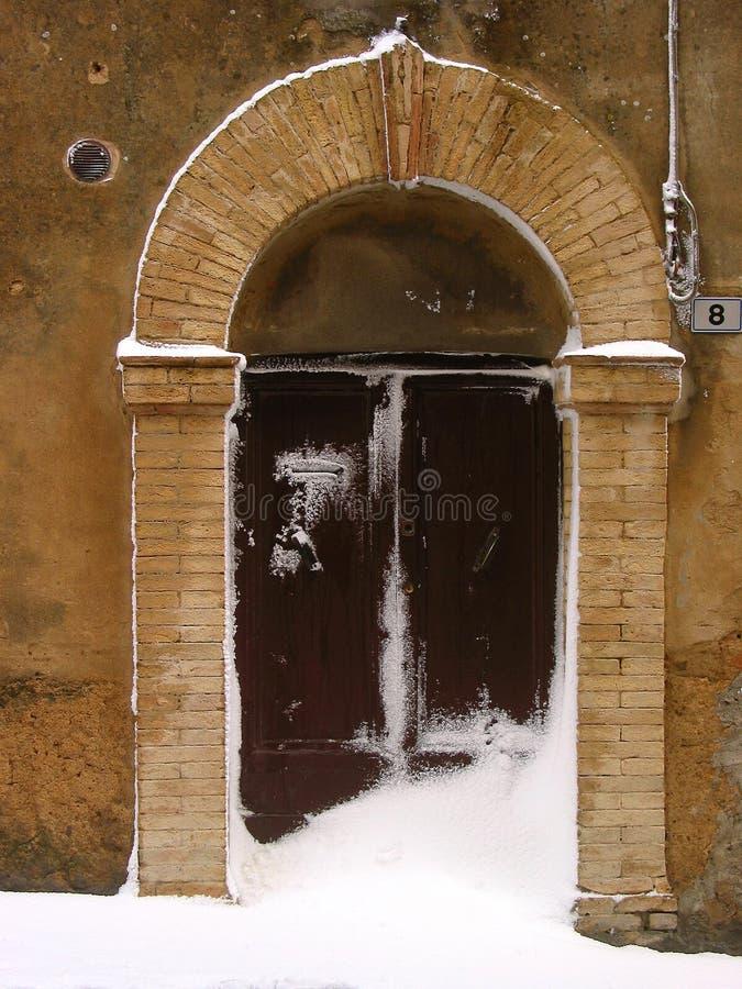 Puerta 02 foto de archivo libre de regalías