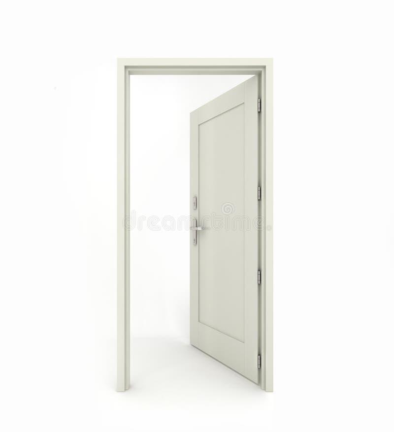 Puerta abierta imagenes de archivo