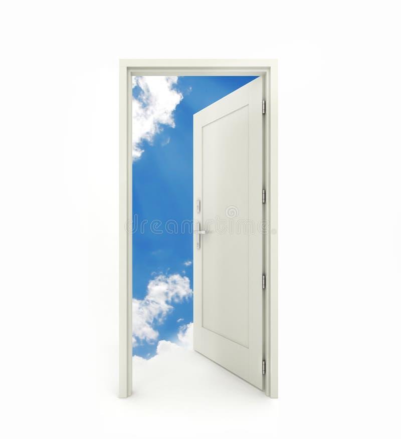 Puerta abierta fotos de archivo libres de regalías