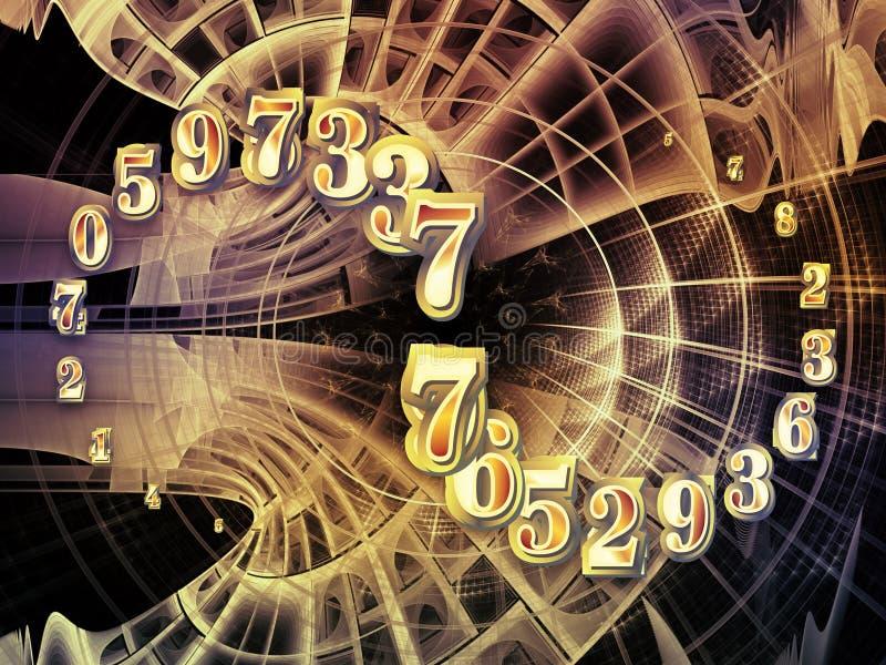 Puerta al infinito ilustración del vector