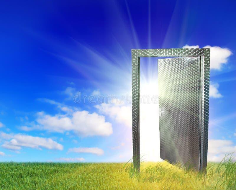 Puerta al nuevo mundo foto de archivo libre de regalías