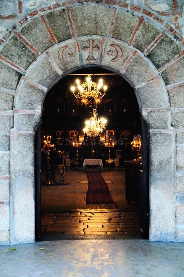 Puerta al ortodoxo fotografía de archivo
