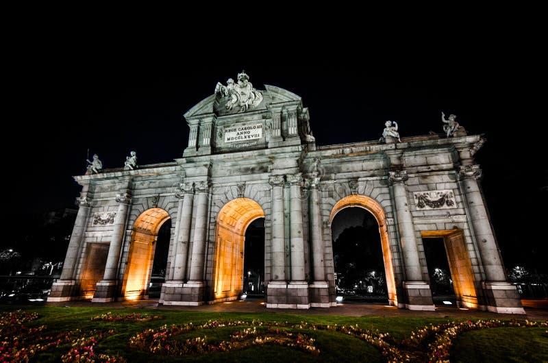 Puerta Alcala imagen de archivo libre de regalías