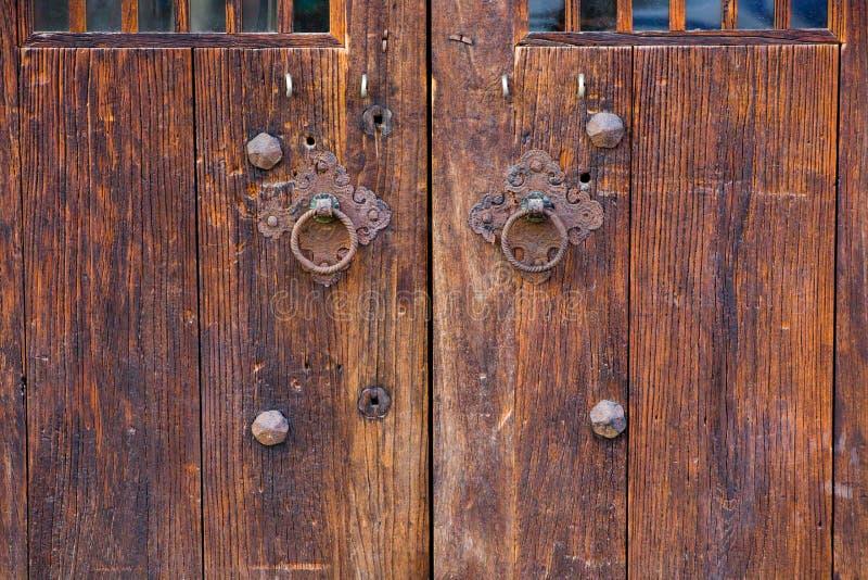 Puerta antigua china fotos de archivo libres de regalías
