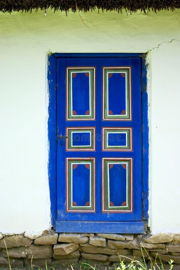 Download Puerta azul imagen de archivo. Imagen de pared, shape, piedra - 193417